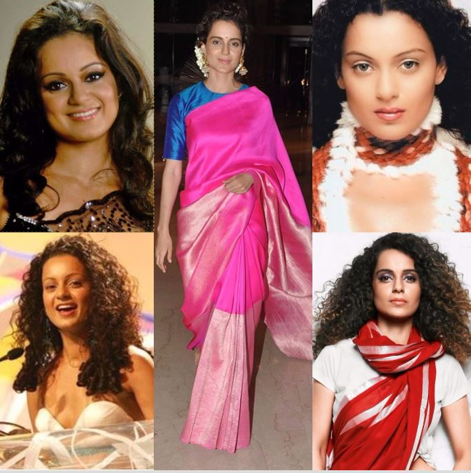 From gawky to sassy, style evolution of the fiery Kangana Ranaut