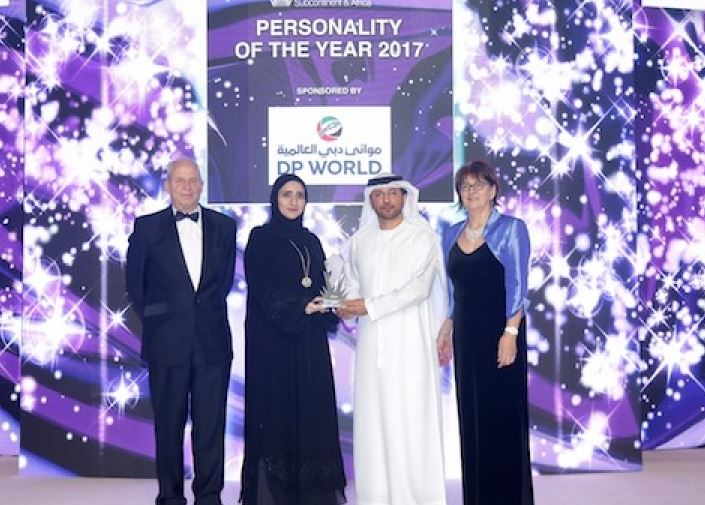 Hessa Al Malek named Personality of the Year at Seatrade Maritime Awards