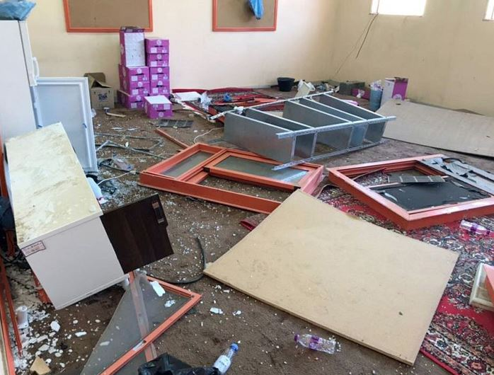 PHOTOS: GGM missile launched from Yemen damages Saudi school
