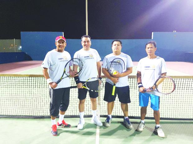Al Rowaie-Makram pair score fine win