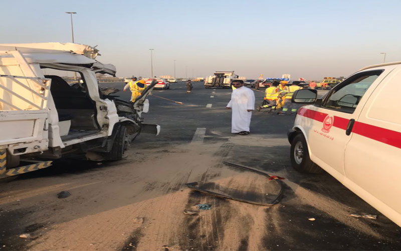 Four killed, three injured in horrific accident
