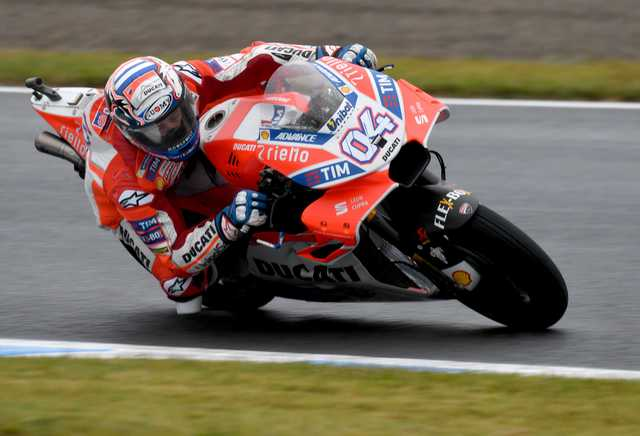 Dovizioso holds off Marquez to win Japanese Grand Prix