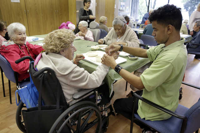 A nursing home's high school teaches lessons on life
