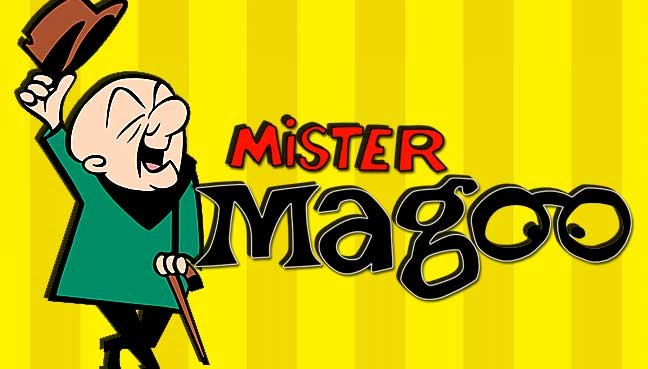 Watch out! Mr Magoo is stumbling back onto TV screens