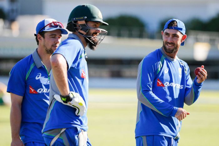 Under-pressure Maxwell hopes new technique leads to Ashes