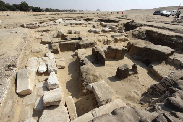 Egypt: Ramses II temple unearthed southwest of Cairo