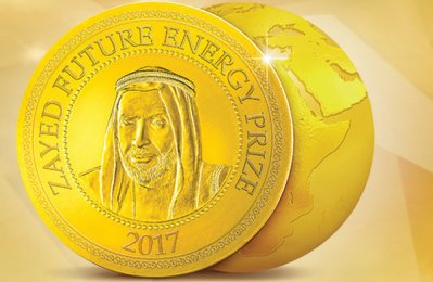 34 shortlisted for 2018 Zayed Future Energy Prize