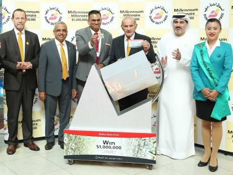 Malaysian, 73, wins $1 million in Dubai draw
