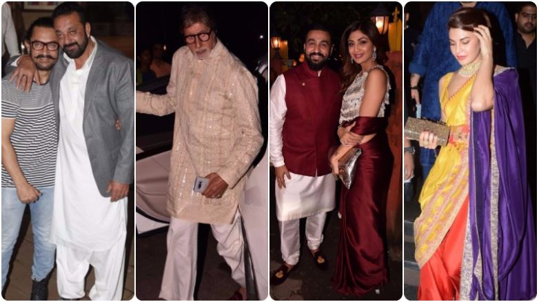 Jacqueline, Shilpa and Vidya among best dressed celebs at Diwali parties!