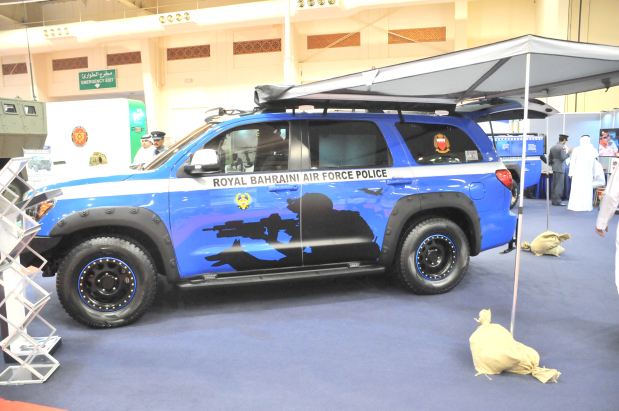 Bahrain crime fighting vehicle 'star attraction'