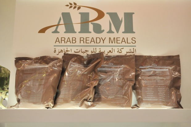 Traditional Arabic cuisine as combat meals for soldiers
