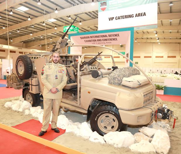 PHOTOS: Shaikh Khalid designs military vehicle