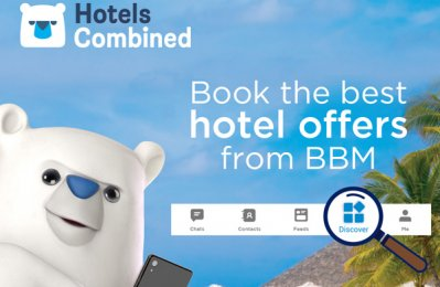 BBM Messenger partners with HotelsCombined for best deals