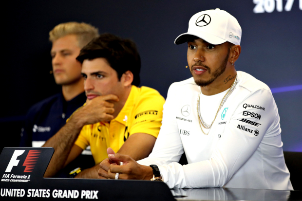 Hamilton in driving seat for fourth title