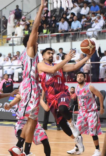 Bahrain Basketball League: Al Ahli see off Muharraq