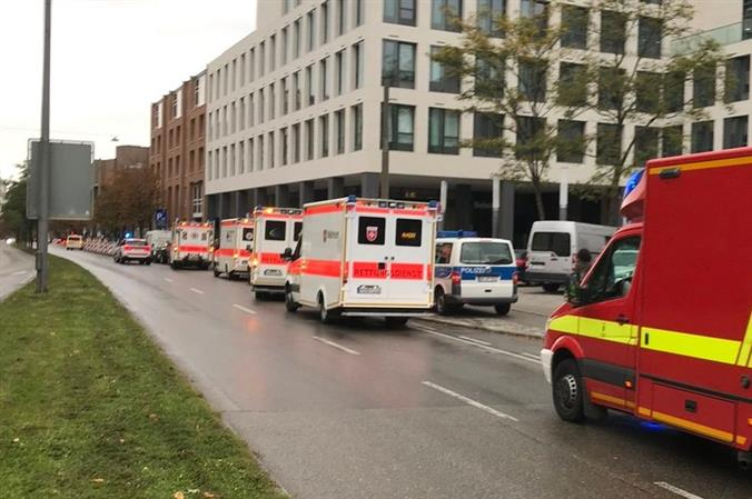 Police say four people stabbed in Munich, assailant flees