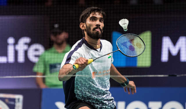 Badminton: Srikanth barges into Denmark Open final