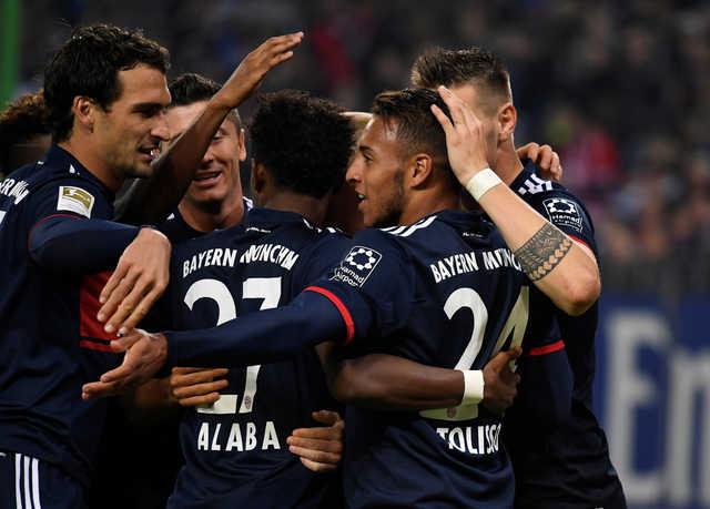 Bundesliga: Bayern stretch winning run under Heynckes to join Dortmund on top