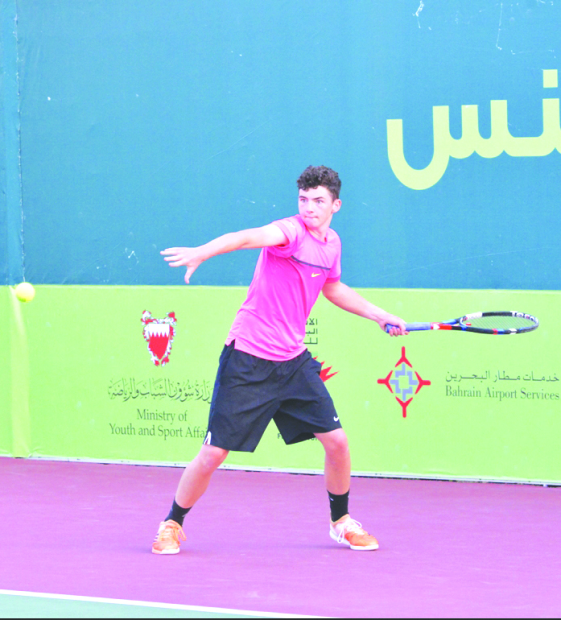 Barry marches into main draw of juniors tennis