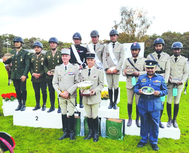 Bahraini riders finish third best at French showjumping