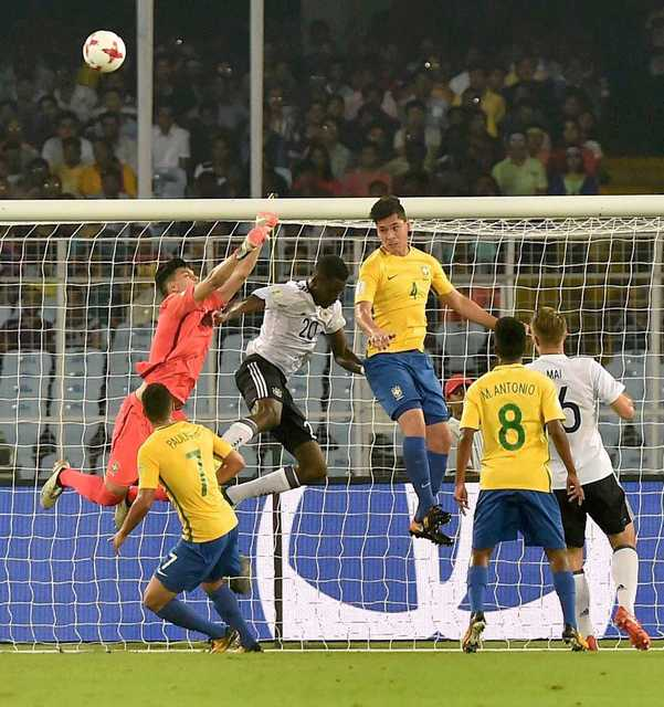 Brazil and Spain barge into FIFA U-17 World Cup semis