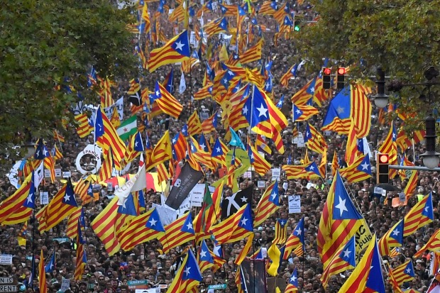 Catalan parties discuss next move after Spain raises stakes