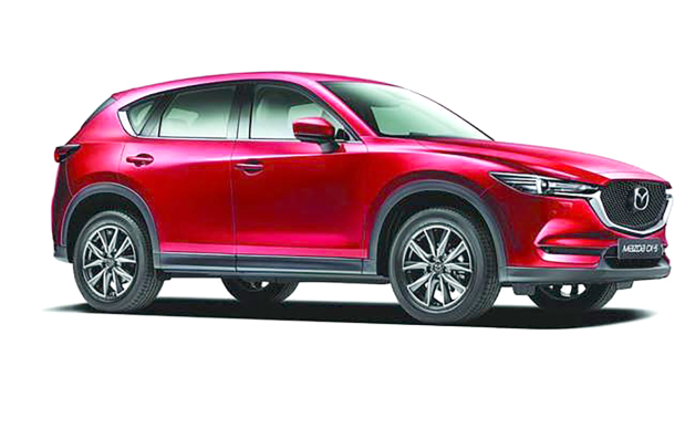 Stylish Mazda CX-5 sets new standards