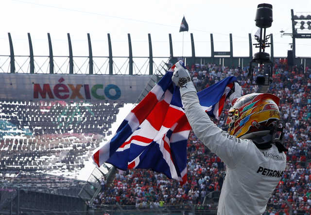 Hamilton wins fourth F1 championship at Mexican Grand Prix