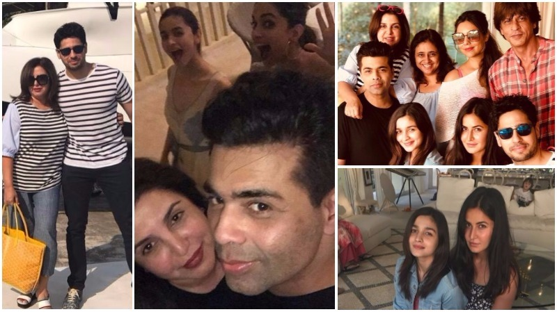 Inside Shah Rukh Khan's birthday party: Deepika, Alia, Suhana dazzle