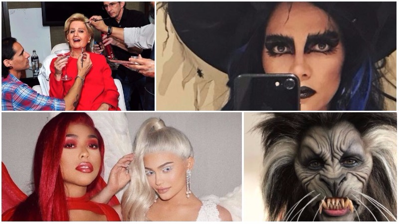 IN PICTURES: The Best Celebrity Halloween Costumes of 2017