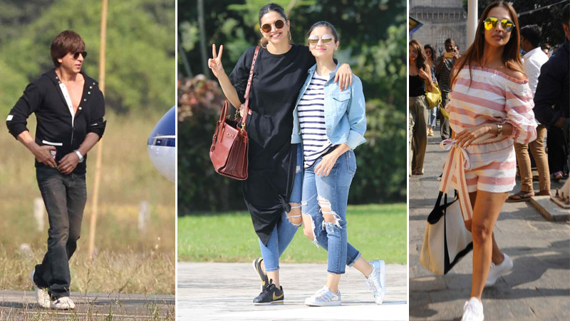 IN PICTURES: Celebrities return after attending Shah Rukh Khan's birthday bash