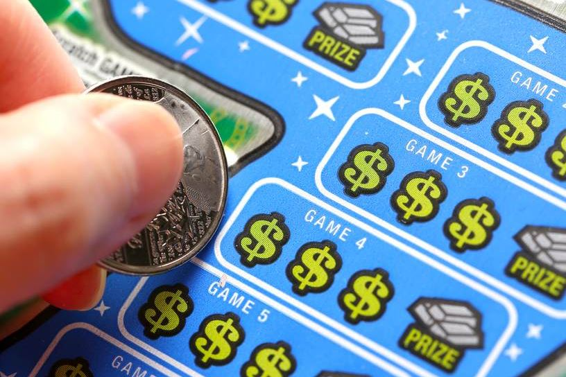What are the odds? Woman claims two lottery prizes on same day