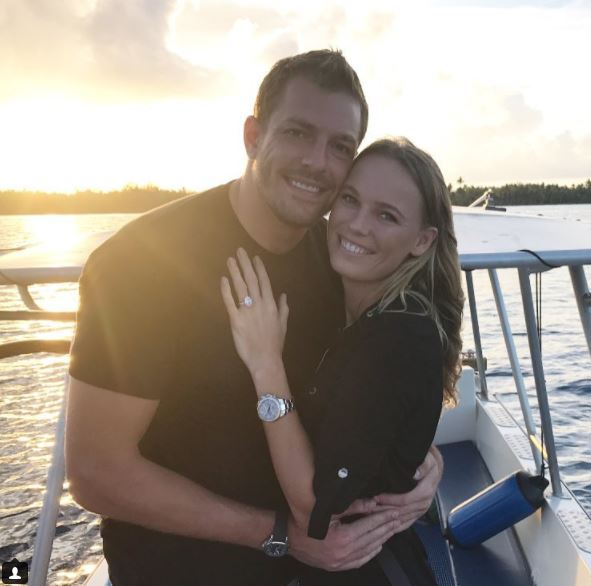 Love game: Tennis star Wozniacki announces she's engaged