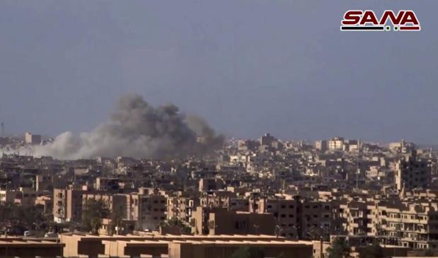 Syria: At least 75 killed in car bomb blast in Deir Al Zor