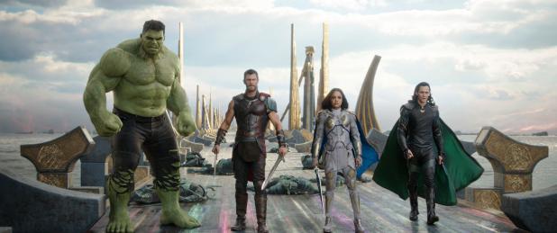 'Thor,' swinging his mighty hammer, smashes Hollywood's slump