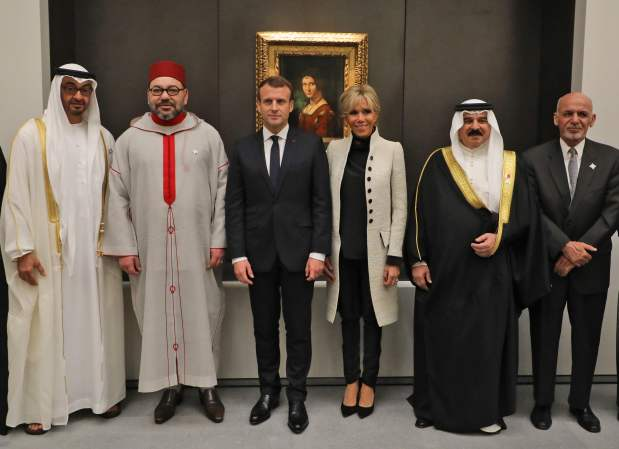 In Pictures: France's Macron, Arab leaders tour the Louvre Abu Dhabi