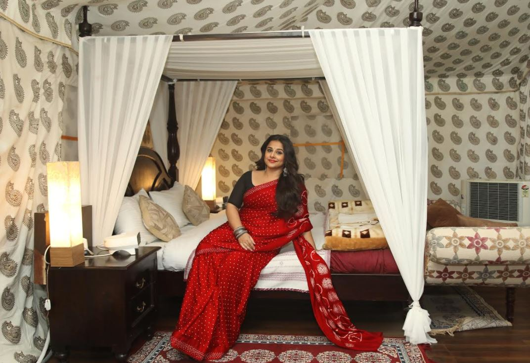 'Tumhari Sulu' star Vidya Balan gets Indian Prime Minister's bullet-proof tent at Rann Utsav