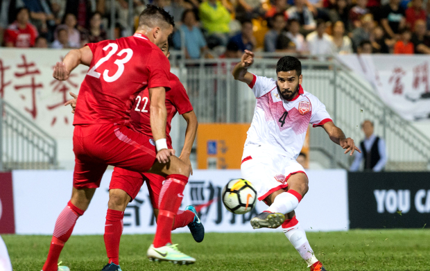 Bahrain seal easy victory over Hong Kong