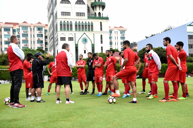 Bahrain set for Singapore clash