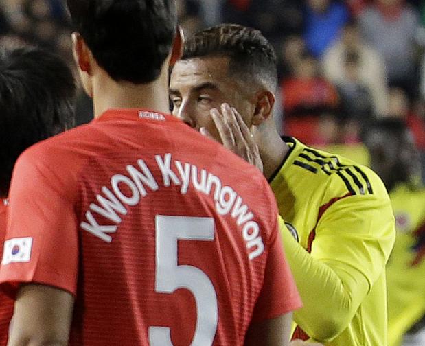 VIDEO: Footballer Cardona caught in racism row in South Korea
