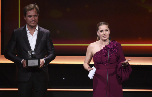Hollywood takes break from scandal to honour Amy Adams