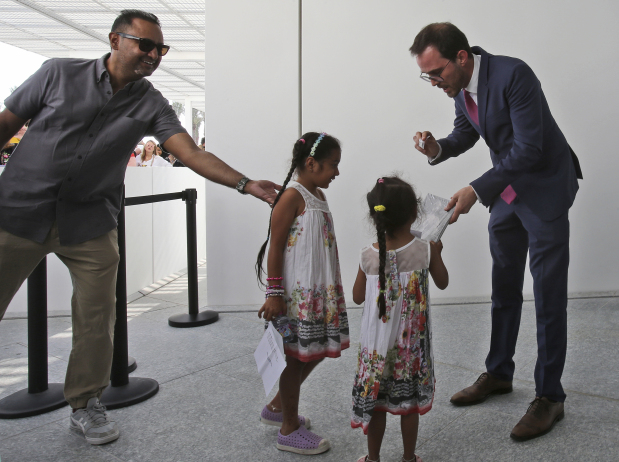 Louvre Abu Dhabi draws cosmopolitan crowd on opening day