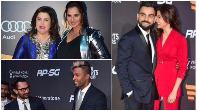 In Pictures: Kohli, Anushka steal show at Indian Sports Honours