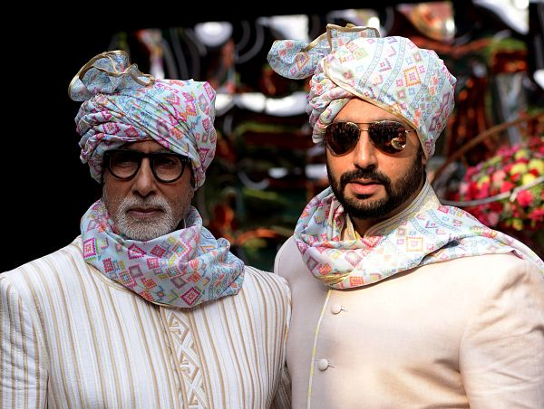 Bollywood: IN PICTURES: The Bachchan clan redefines royalty at family wedding!