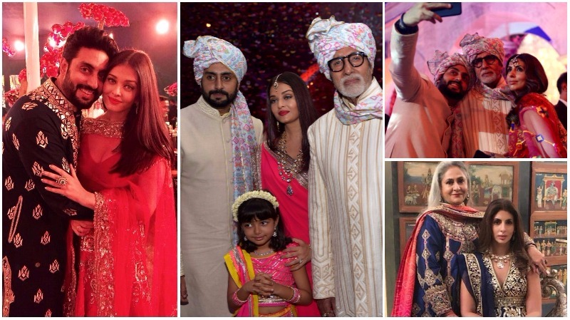 IN PICTURES: The Bachchan clan redefines royalty at family wedding!