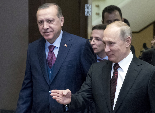 Syria on agenda as Putin and Erdogan meet in Russia