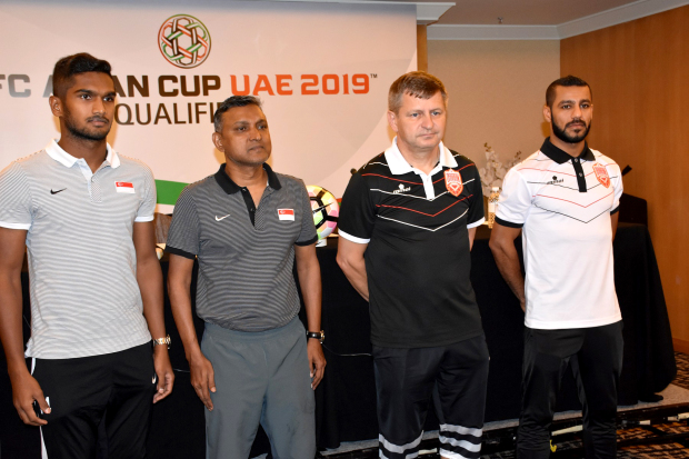 Bahrain ready for Singapore clash