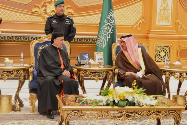 Lebanon's Maronite patriarch makes historic Saudi visit
