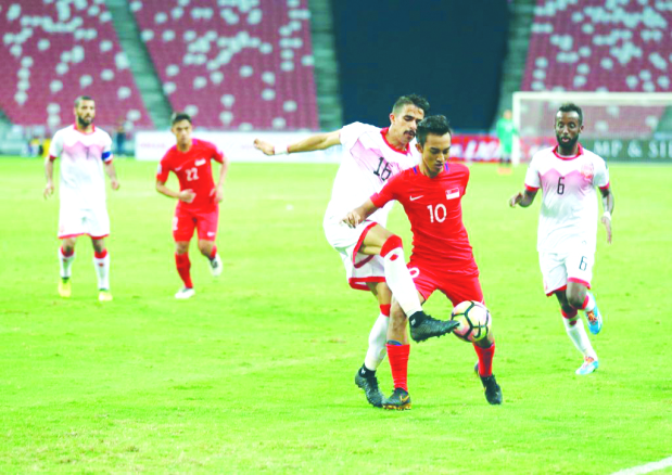 Bahrain tame Singapore to seal AFC Asian Cup spot