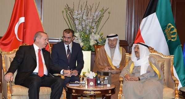 In Pictures: Kuwaiti Amir holds talks with Turkish President